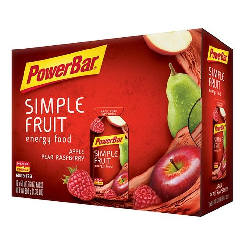 Powerbar Simple Fruit Energy Food 12 pack Gels - null