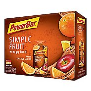 Powerbar Simple Fruit Energy Food 12 pack Gels