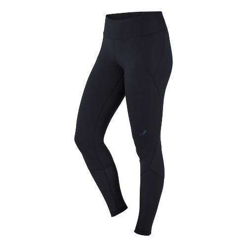 Womens ASICS Panel Tights & Leggings Pants - Black L