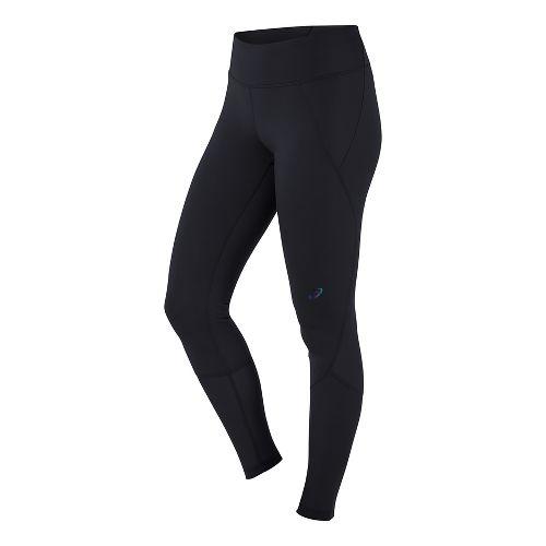 Womens ASICS Panel Tights & Leggings Pants - Black S