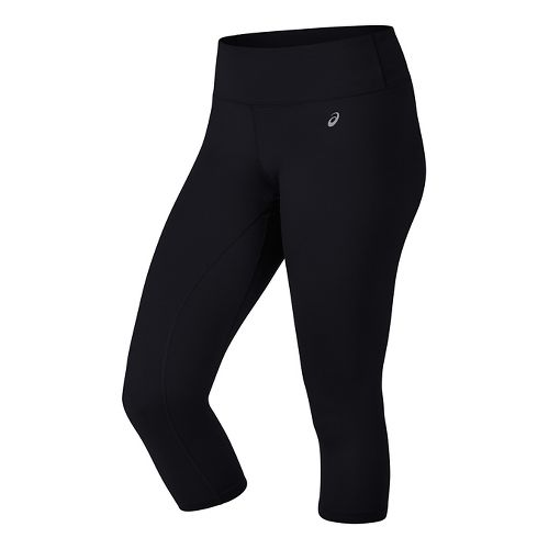Womens ASICS PR II Capris Pants - Black XS