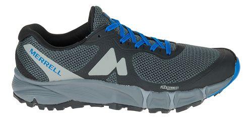 Mens Merrell Agility Charge Flex Trail Running Shoe - Black 10.5