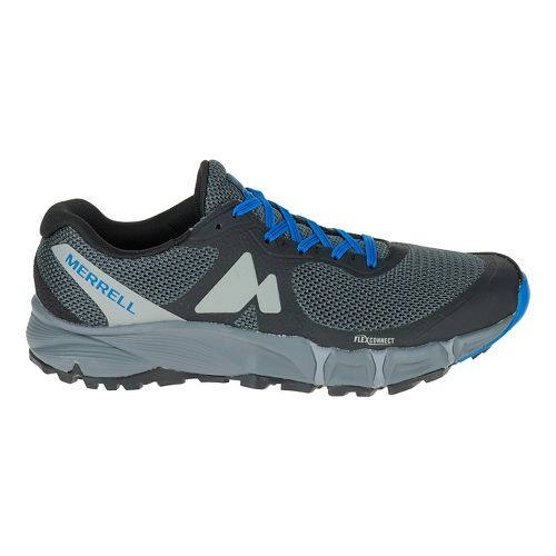 Mens Merrell Agility Charge Flex Trail Running Shoe - Black 10