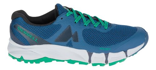 Mens Merrell Agility Charge Flex Trail Running Shoe - Navy 9