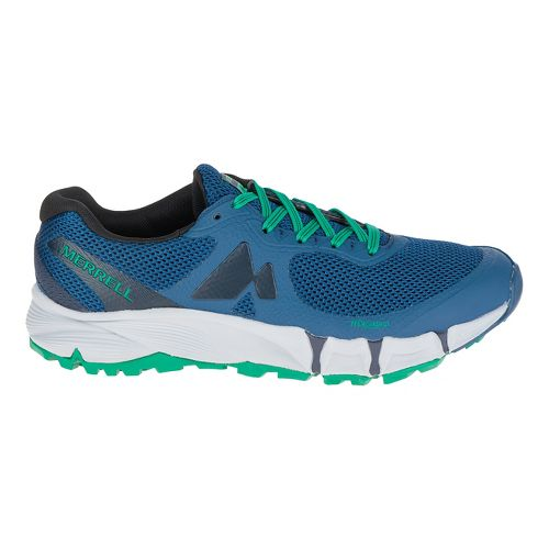 Mens Merrell Agility Charge Flex Trail Running Shoe - Navy 12