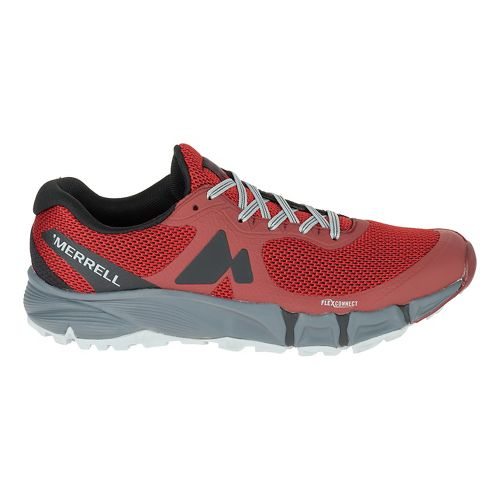 Mens Merrell Agility Charge Flex Trail Running Shoe - Red 8.5