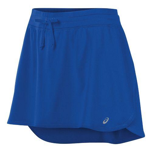 Womens ASICS Skorts Fitness Skirts - New Blue XS