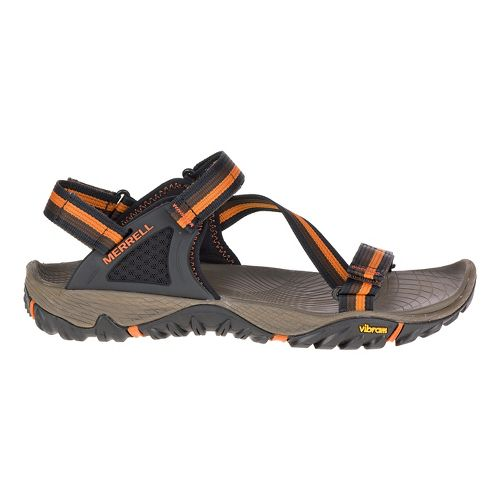 Mens Merrell All out Blaze Web Hiking Shoe - Black 8