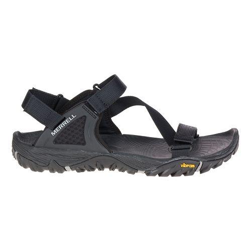 Mens Merrell All out Blaze Web Hiking Shoe - Dark Grey 14