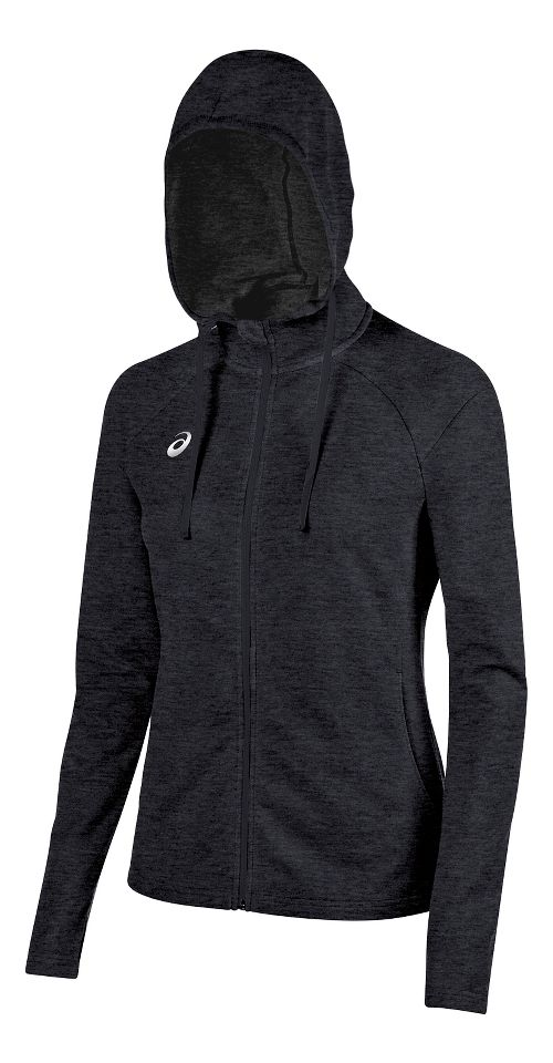 Womens ASICS TM Everyday Running Jackets - Graphite M