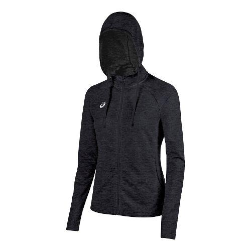 Womens ASICS TM Everyday Running Jackets - Graphite XXL