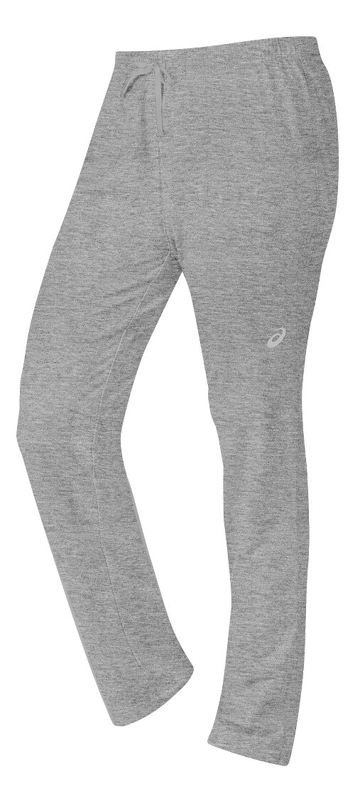 Womens ASICS TM Everyday Pants - Heather Grey M