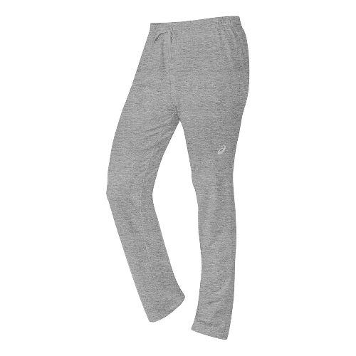 Womens ASICS TM Everyday Pants - Heather Grey XL