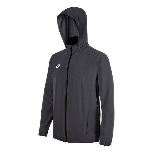 ASICS TM Battle Running Jackets - Steel Grey M