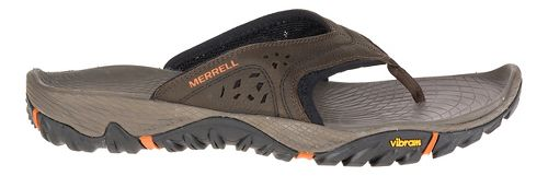 Mens Merrell All Out Blaze Flip Sandals Shoe - Slate Black 10