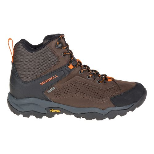 Mens Merrell Everbound Mid GTX Hiking Shoe - Dark Earth 14