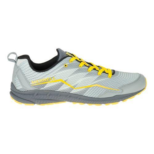 Mens Merrell Crusher Trail Running Shoe - Wild Dove 14.5