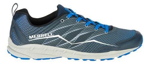 Mens Merrell Crusher Trail Running Shoe - Dark Slate 12