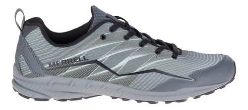 Mens Merrell Crusher Trail Running Shoe - Grey 10