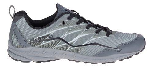 Mens Merrell Crusher Trail Running Shoe - Grey 7