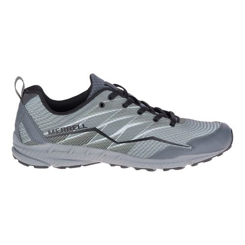 Mens Merrell Crusher Trail Running Shoe - Grey 8