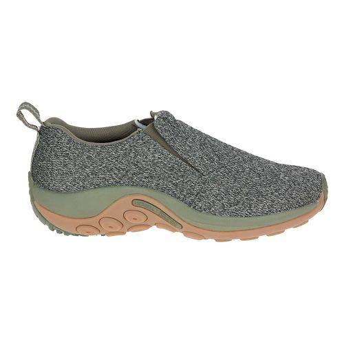 Mens Merrell Jungle Moc Mesh Casual Shoe - Dusty Olive 9