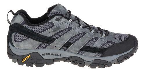 Mens Merrell Moab 2 Waterproof Hiking Shoe - Granite 8