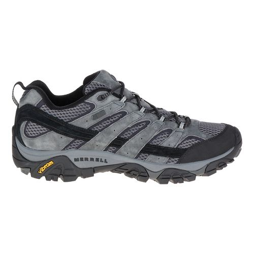 Mens Merrell Moab 2 Waterproof Hiking Shoe - Granite 10
