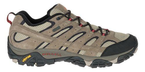 Mens Merrell Moab 2 Waterproof Hiking Shoe - Bark Brown 9
