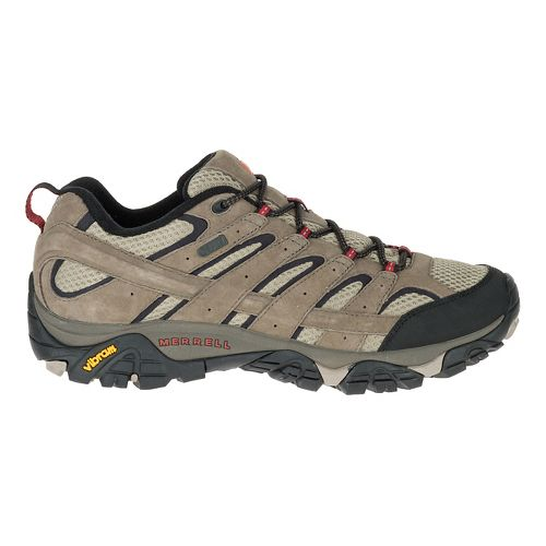 Mens Merrell Moab 2 Waterproof Hiking Shoe - Bark Brown 10.5