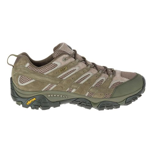 Mens Merrell Moab 2 Waterproof Hiking Shoe - Dusty Olive 12
