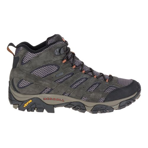 Mens Merrell Moab 2 Mid Waterproof Hiking Shoe - Beluga 7