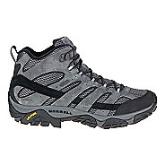 Mens Merrell Moab 2 Mid Waterproof Hiking Shoe - Granite 10