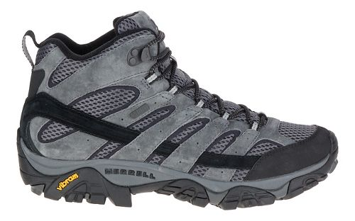 Mens Merrell Moab 2 Mid Waterproof Hiking Shoe - Granite 10