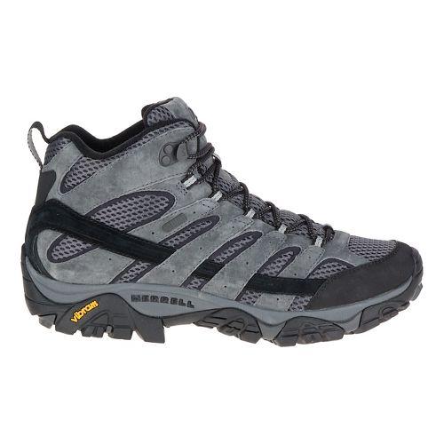 Mens Merrell Moab 2 Mid Waterproof Hiking Shoe - Granite 12