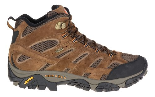 Mens Merrell Moab 2 Mid Waterproof Hiking Shoe - Earth 10