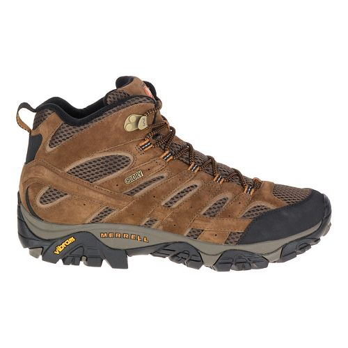 Mens Merrell Moab 2 Mid Waterproof Hiking Shoe - Earth 14