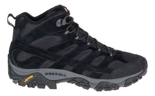 Mens Merrell Moab 2 Vent Mid Hiking Shoe - Black Night 13