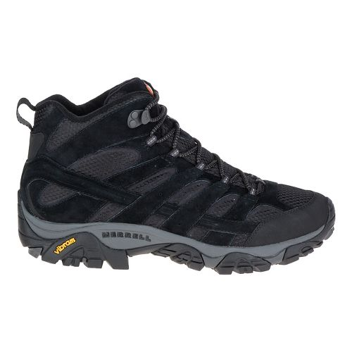 Mens Merrell Moab 2 Vent Mid Hiking Shoe - Black Night 7.5