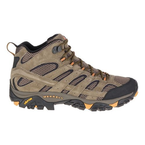 Mens Merrell Moab 2 Vent Mid Hiking Shoe - Walnut 8