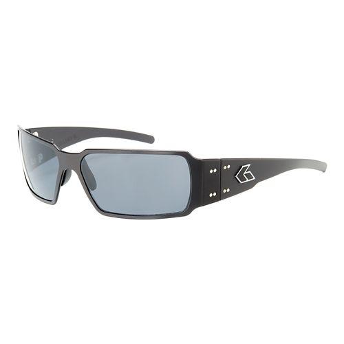 Mens Gatorz Boxster Sunglasses - Black/Smoke