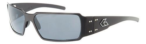 Mens Gatorz Boxster Sunglasses - Black/Polarized