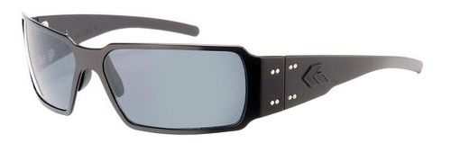 Mens Gatorz Boxster Sunglasses - Blackout/Polarized