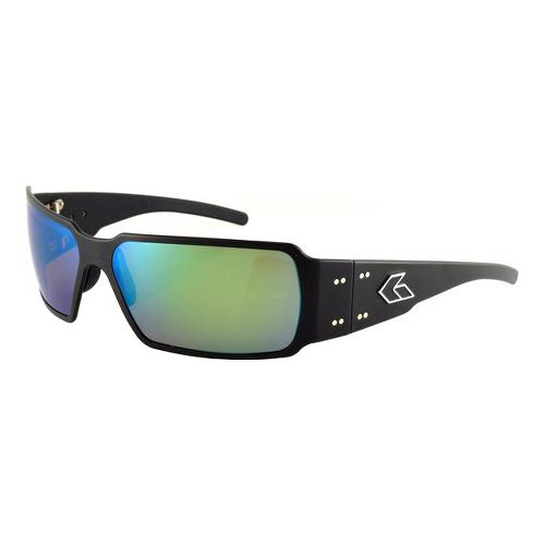 Mens Gatorz Boxster Sunglasses - Green/Polarized