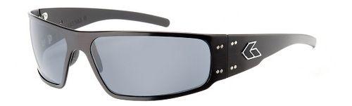 Mens Gatorz Magnum Sunglasses - Black/Smoke