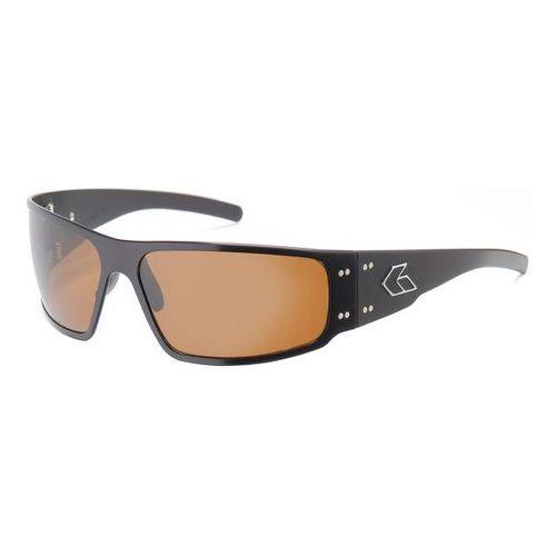 Mens Gatorz Magnum Sunglasses - Black/Brown