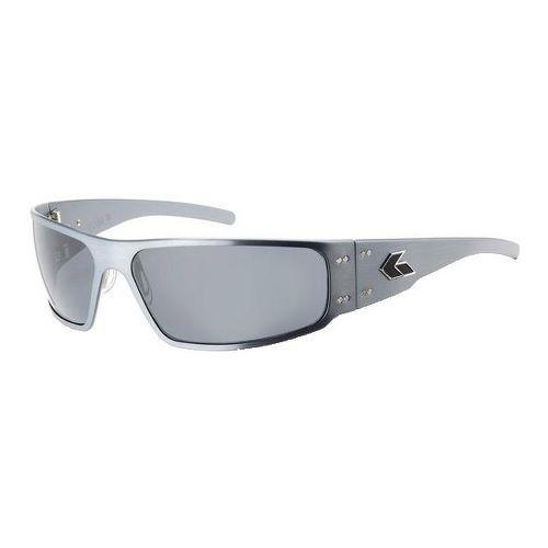 Mens Gatorz Magnum Sunglasses - Gun Metal/Smoke