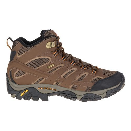 Mens Merrell Moab 2 Mid GTX Hiking Shoe - Earth 12