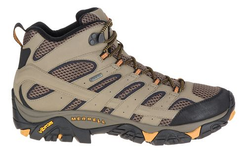 Mens Merrell Moab 2 Mid GTX Hiking Shoe - Walnut 8