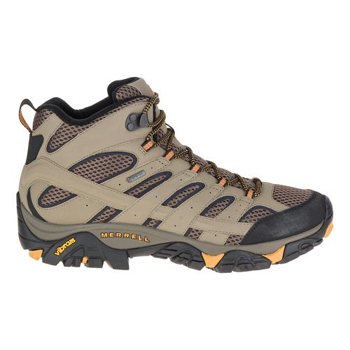 Mens Merrell Moab 2 Mid GTX Hiking Shoe - Walnut 8